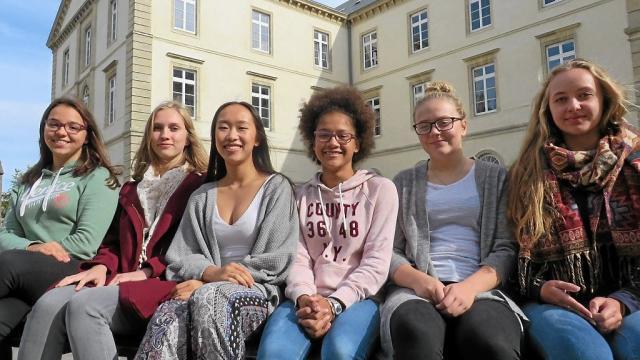 Marija, Klara, Monica, Esther, Ella et Mari ont dû rapidement s'adapter à la culture française.